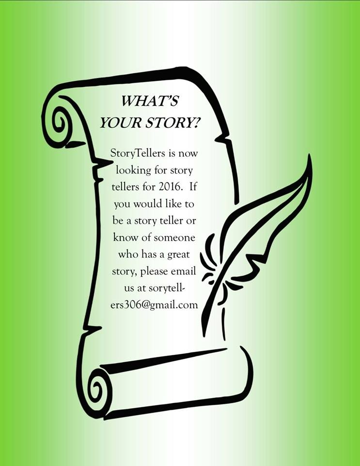 What's your story? An appeal to share your story with others